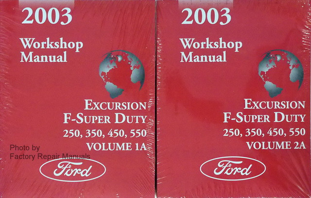2003 ford f550 owners manual