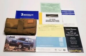 2005 jeep liberty limited owners manual