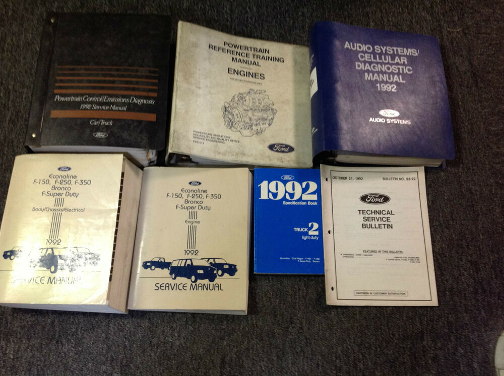 1992 ford f150 xlt owners manual