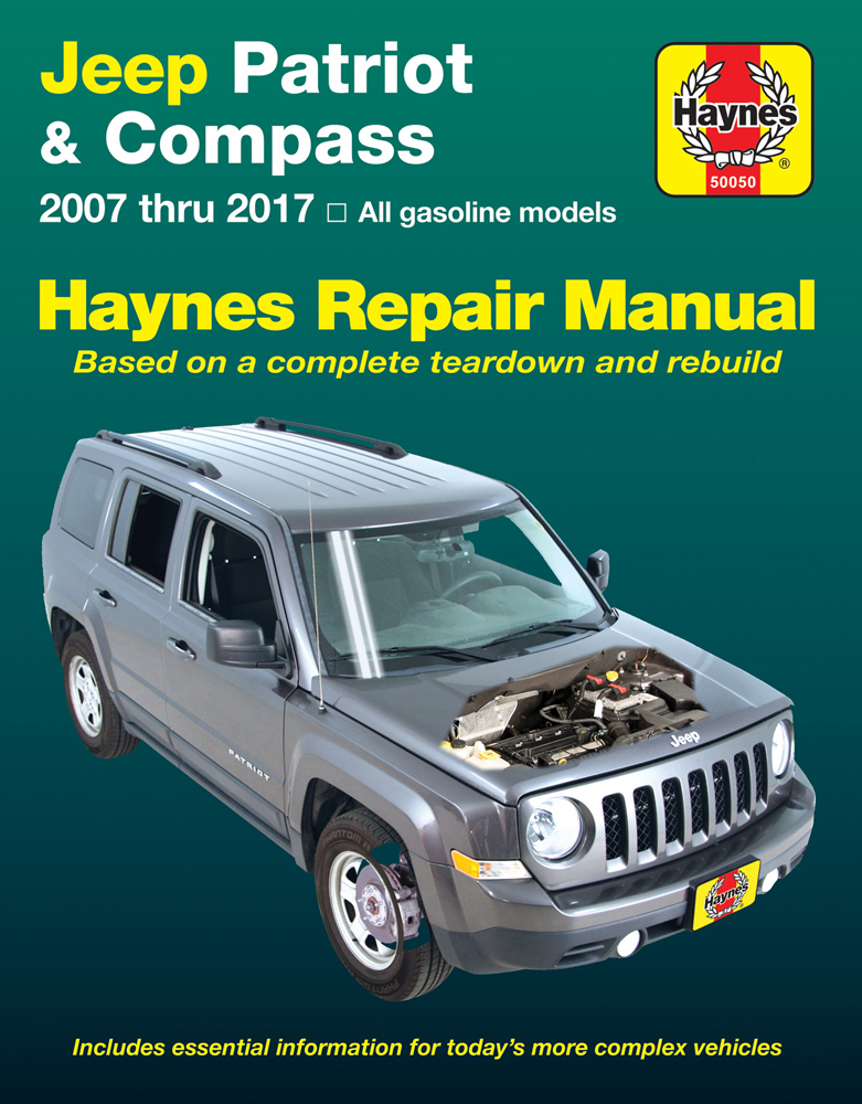 2007 jeep patriot owners manual