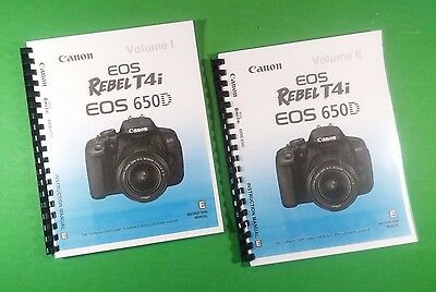 canon rebel t6i owners manual