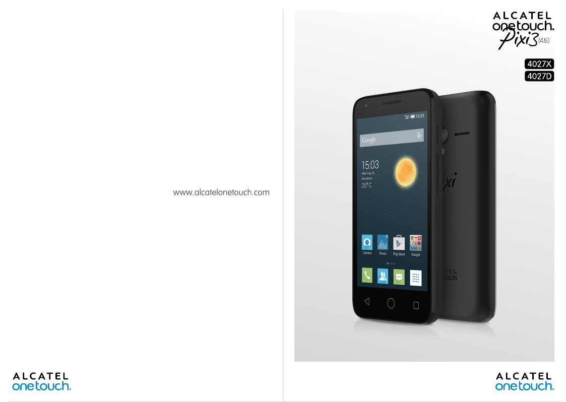 alcatel one touch y800 user manual