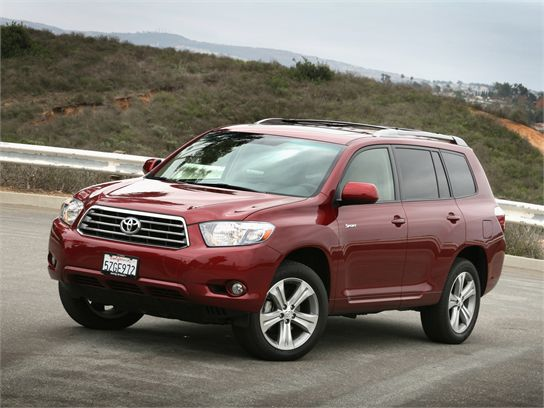 2010 toyota highlander limited owners manual