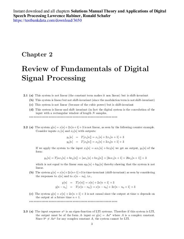 document processing manual chapter 2
